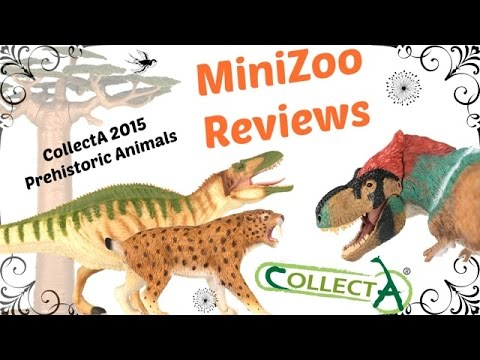 CollectA 2015 Prehistoric Animals Part 4 PLUS Baobab Tree