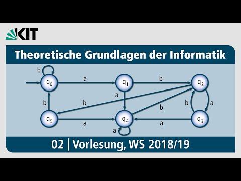 01: Formale Sprachen, Reguläre Sprachen,Endliche Automaten,Kontextfreie Grammatiken from YouTube · Duration:  1 hour 3 minutes 21 seconds