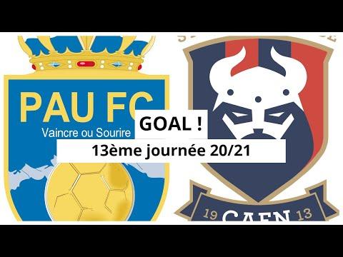 Pau Caen Goals And Highlights