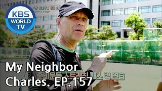 My Neighbor,Charles Ep157/The first foreign soccer player to become a Korean citizen[ENG/2018.10.11]