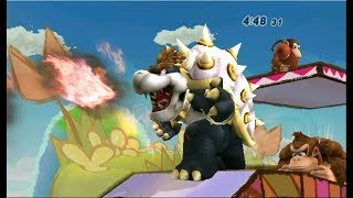 Super Smash Bros. Brawl: Classic Mode on Intense with Bowser (Crazy Hand Clear)