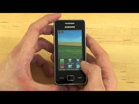 Samsung S5260 Star II Test Bedienung