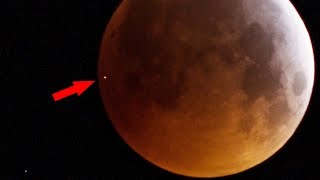 Meteorite Impact on Moon
