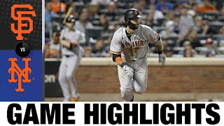 Giants vs. Mets Game Highlights (8/25/21)