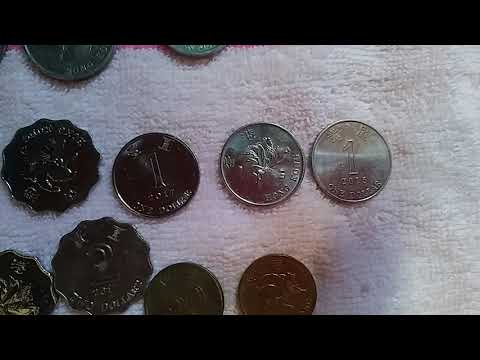 Hongkong Coins And Its Equivalent Rate In Peso