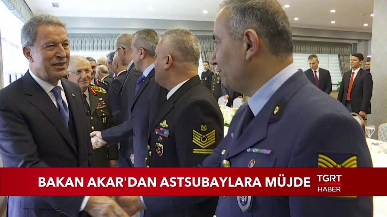 Bakan Akar'dan Astsubaylara Müjde - YouTube