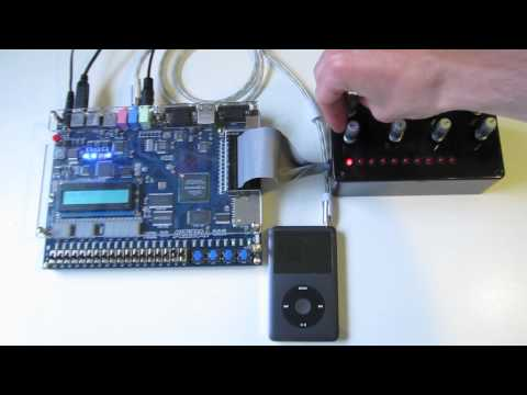 FPGA audio effects processor
