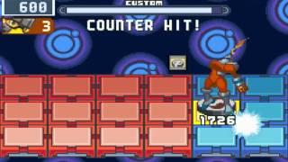 Megaman Battle Network 4 Red Sun S Ranking Omega Navis Part 1