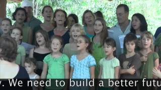 Song for the climate (Bella ciao) by the children of Auroville