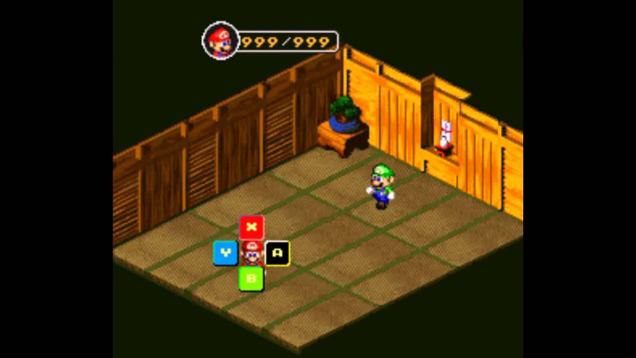 [Super Mario RPG Armageddon 7 7] Luigi
