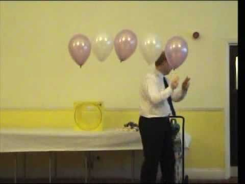 How to make a balloon arch decoration youtube for How to build a balloon arch