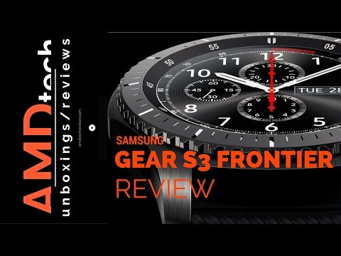 Samsung Gear S3 Frontier (LTE) Review:  The Ultimate Smartwatch?