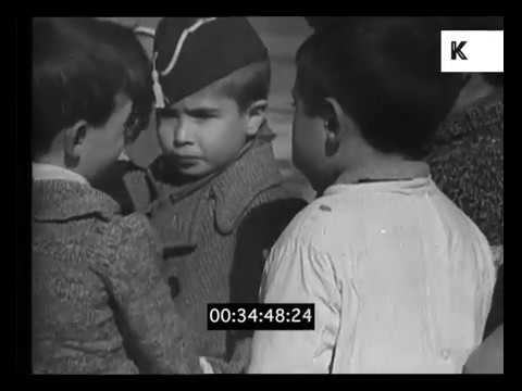 Civil War in Madrid, 1930s Spain, Documentary