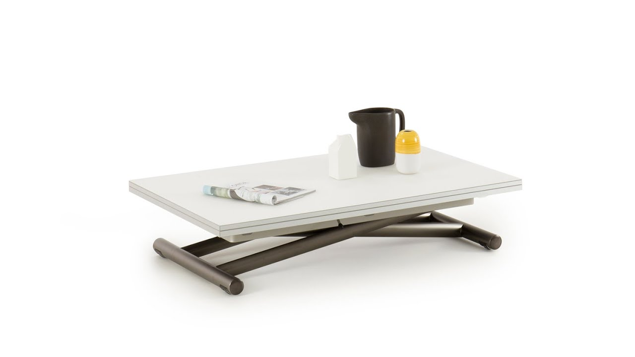 bento convertible coffee dining table youtube. Black Bedroom Furniture Sets. Home Design Ideas