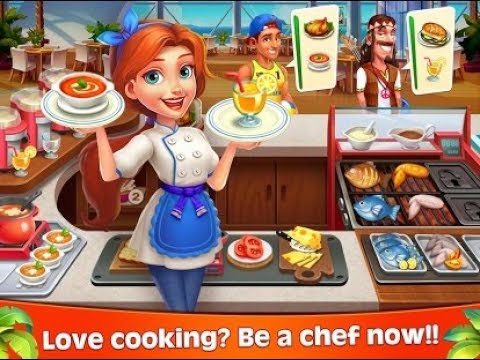 Funny Kids Game Cooking Joy Super Cooking Games Best Cook Learn How To Serve Food 2 Youtube