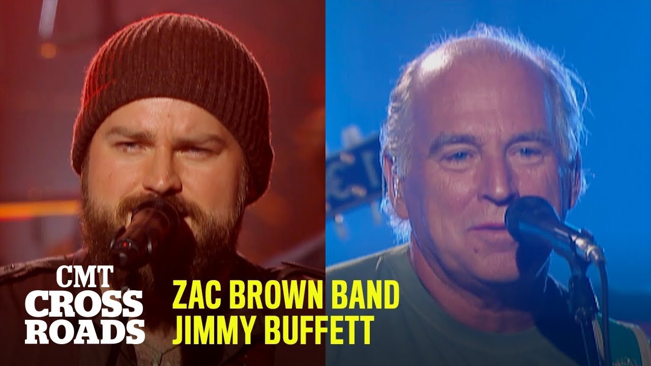 Zac Brown Band & Jimmy Buffett Perform 'Chicken Fried' 🍗 #TBT | CMT Crossroads