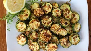 Side Dish Recipe: Lemon, Parmesan, & Thyme Roasted Zucchini By Cookingforbimbos.com