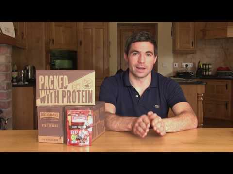 Rucksnacks Our Story Beef Jerky High Protein Snack