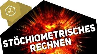 Stöchiometrisches Rechnen am Beispiel einer Explosion
