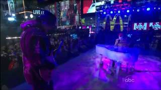 Justin Bieber Let It Be Live From Times Square - New Year's Eve 2011