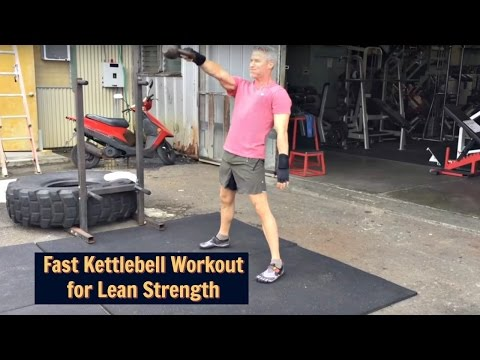 Outdoor Kettlebell Circuit for Lean Strength After 50