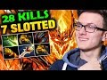 Miracle Shadow Fiend Nearly 1K GPM 1K Damages Per Hit SF Dota 2 mp3