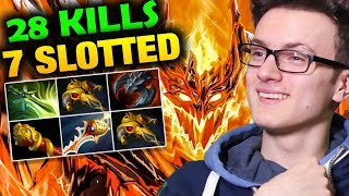 Miracle- Shadow Fiend Nearly 1K GPM - 1K Damages Per Hit SF Dota 2