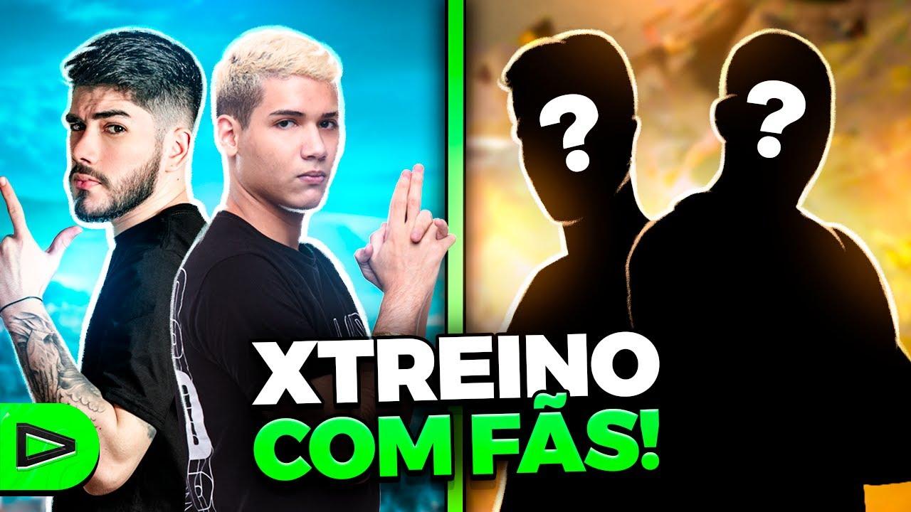 BOOYAH?! X TREINO COM INSCRITOS NA LOUD FREE FIRE!!