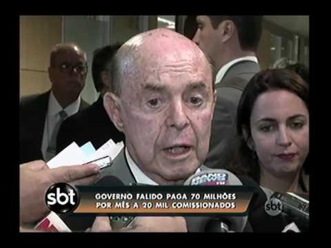 Governador Francisco Dornelles propõe calote para superar crise