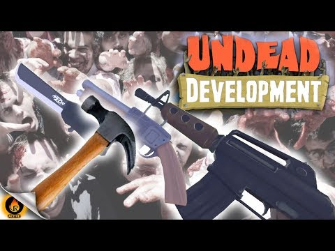 CUSTOM ZOMBIE FORT & WEAPON ASSEMBLY! -Undead Development VR [EP.1]