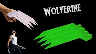 Kağıttan Wolverine Pençesi Nasıl Yapılır