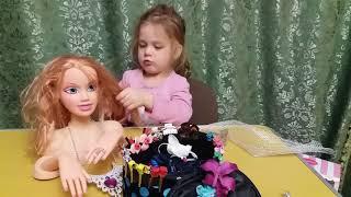 Голова ляльки для зачісок