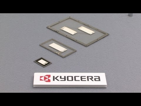 1mm thick piezo film speaker from Kyocera used in LG's curved-screen OLED TV #DigInfo