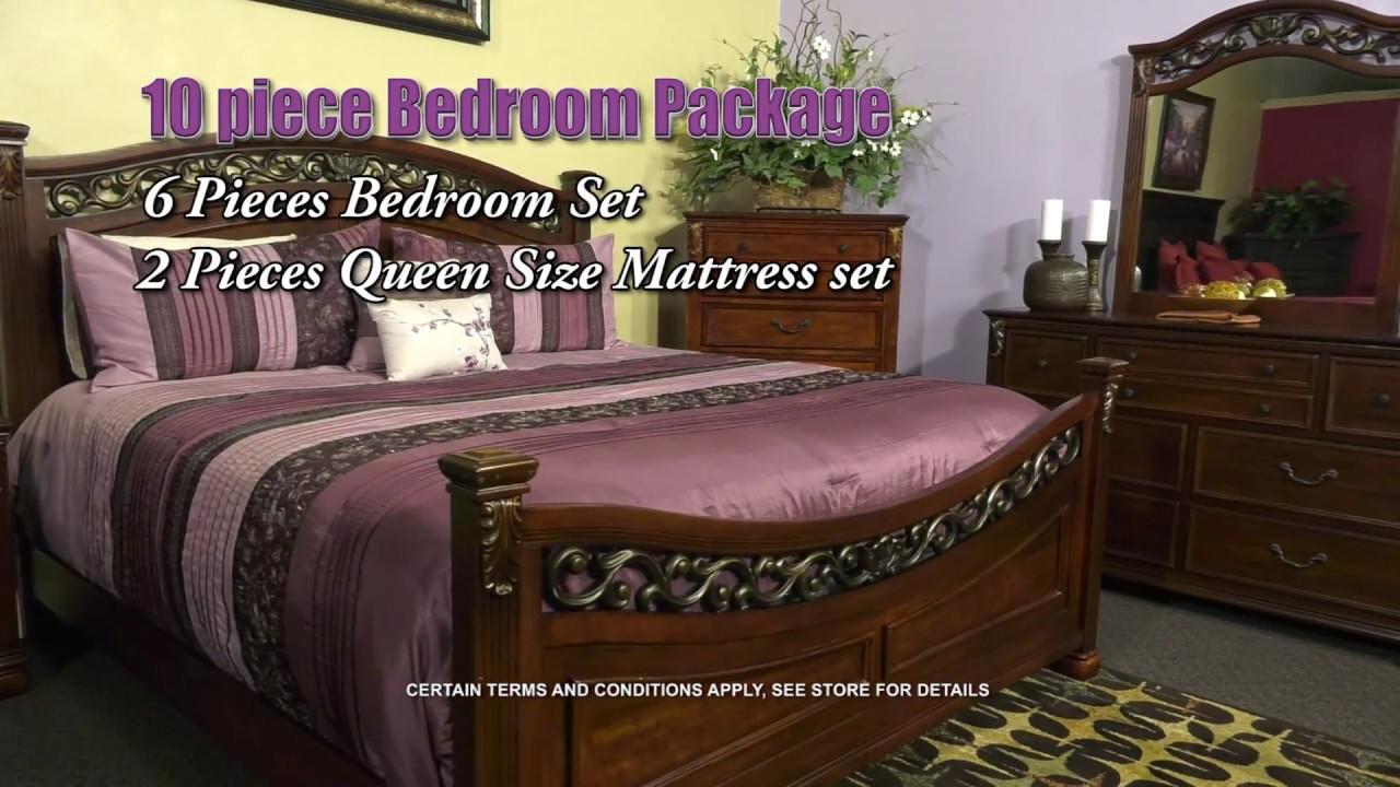 Gonzalez Furniture   BEDROOM 10 PC ASHLEY B526 MARCH 2018 English