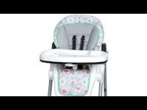 Assembly High Chair Tempo With Compact Fold Youtube