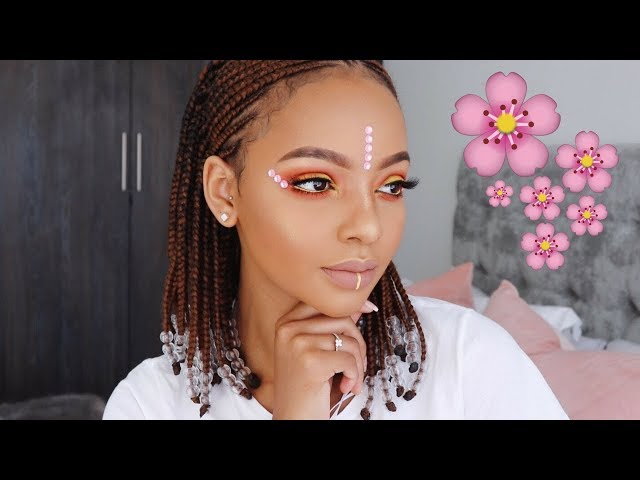 Festival Inspired Makeup Look | MIHLALI N