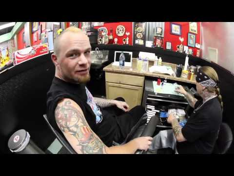 Ivan Moody of Five Finger Death Punch  Day's Off