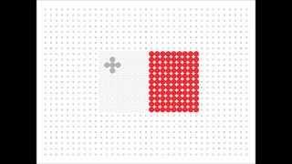 Hama Bead Maltese Flag (flag Series 2 #4)