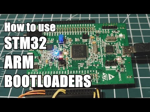 STM32 ARM Microcontroller Bootloaders  / Dfuse / ST link / Serial Flashloader