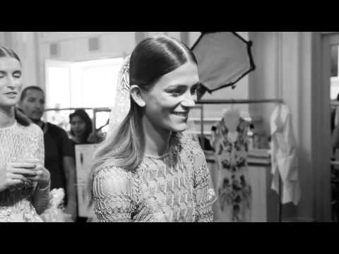 Julien Macdonald SS15 London Fashion Week Backstage