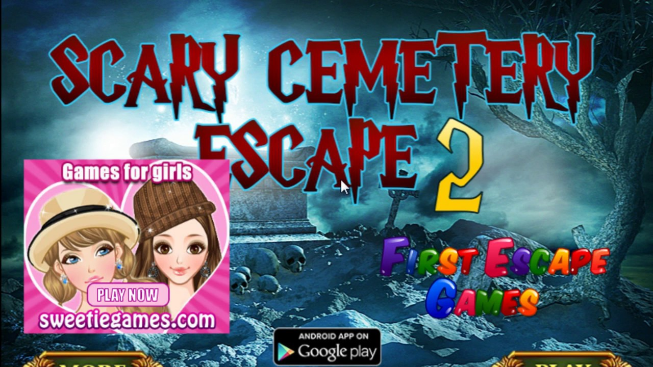 Scary Cemetery Escape 2 Walk Through Firstescapegames