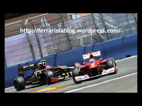 Fernando Alonso Team Radio - Valencia 2012  1080p (HD)
