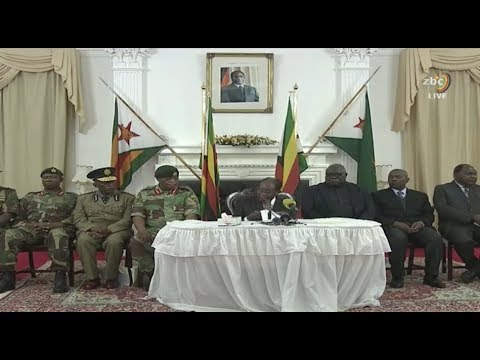 Robert Mugabe remains Zimbabwe president - FULL SPEECH