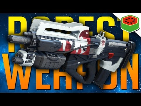 RAREST GUN IN THE GAME  - REDRIX'S CLAYMORE | Destiny 2