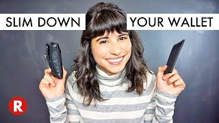 How to Slim Down Your Wallet // Minimalist Wallets