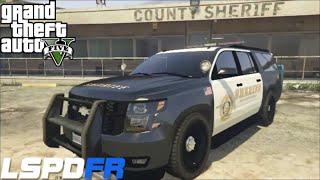 GTA 5 LSPDFR Police Mod 26 | Jail Break | Prisoner Transport |Los Angles Sheriff Department Suburban