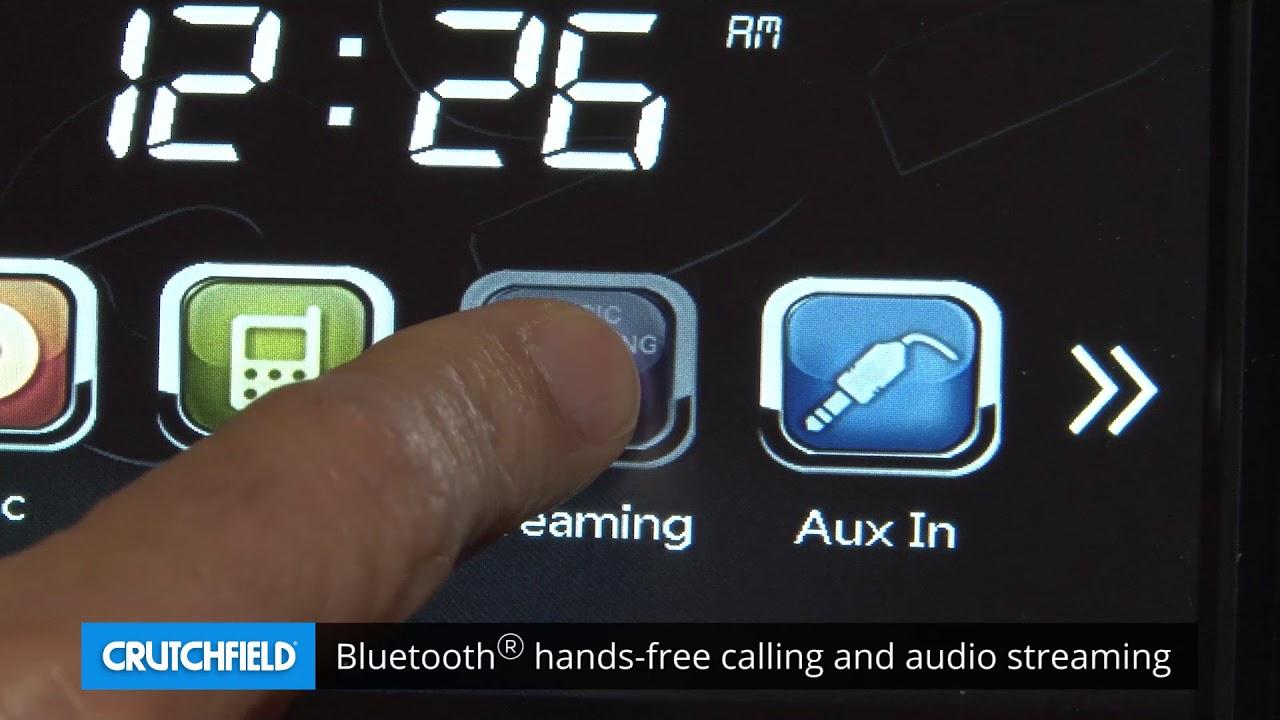 Boss Bv765blc Display And Controls Demo Crutchfield Video Youtube Audio