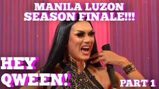 Rupaul's Drag Race All Star MANILA LUZON On Hey Qween SEASON 5 FINALE With Jonny McGovern Part 1