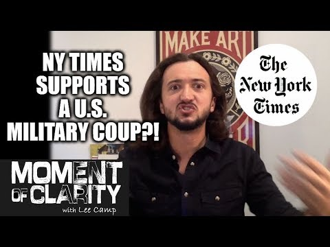 NY Times Supports This? (MOC)