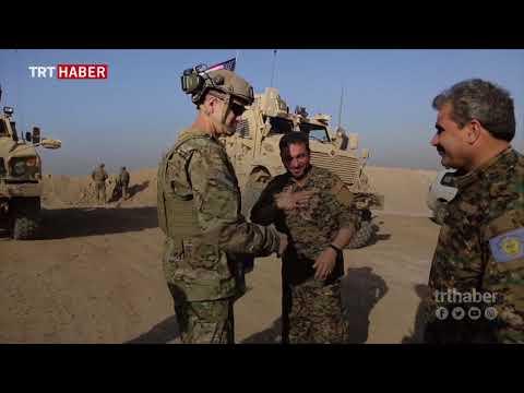 ABD'li komutandan Münbiç'e ziyaret: PYD/PKK'ya desteğimiz devam edecek.